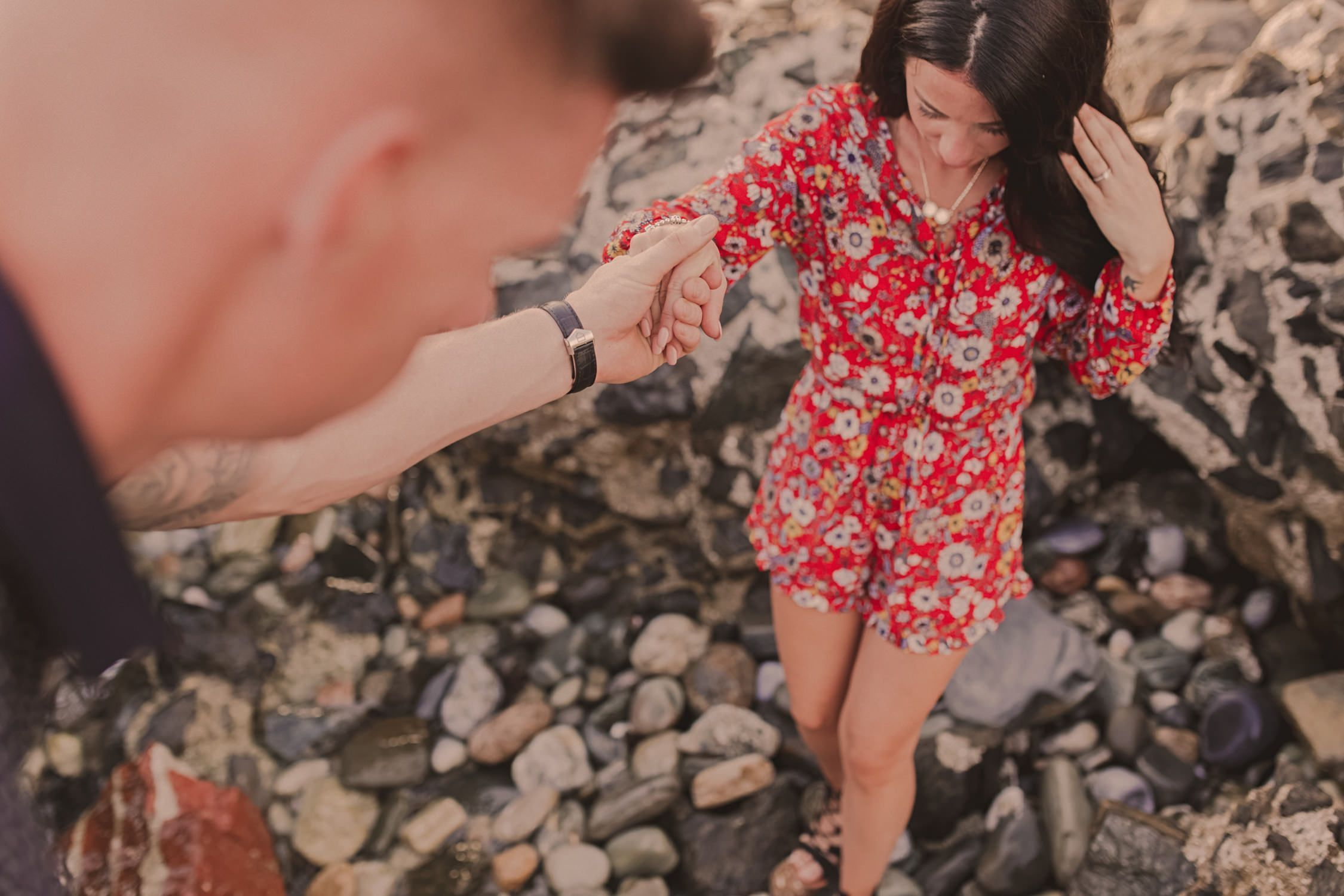 engagement session in maro kino ortega sian jon