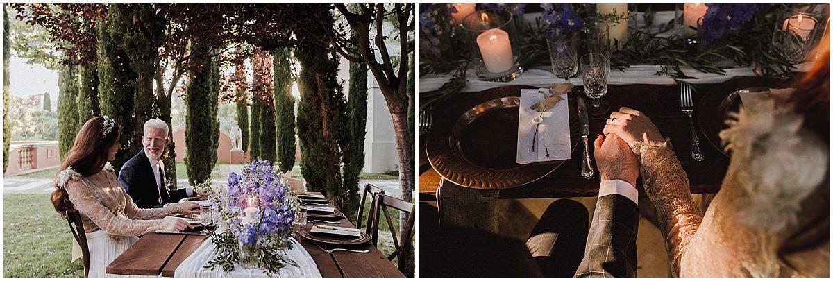 tuscany inspired wedding villa padierna