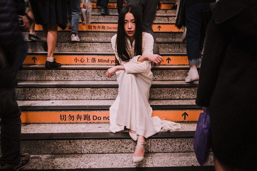 Novia otaduy en china wedding hong kong