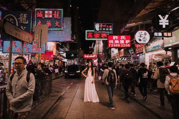Hoi Lun Tam, UNA NOVIA OTADUY EN HONG KONG