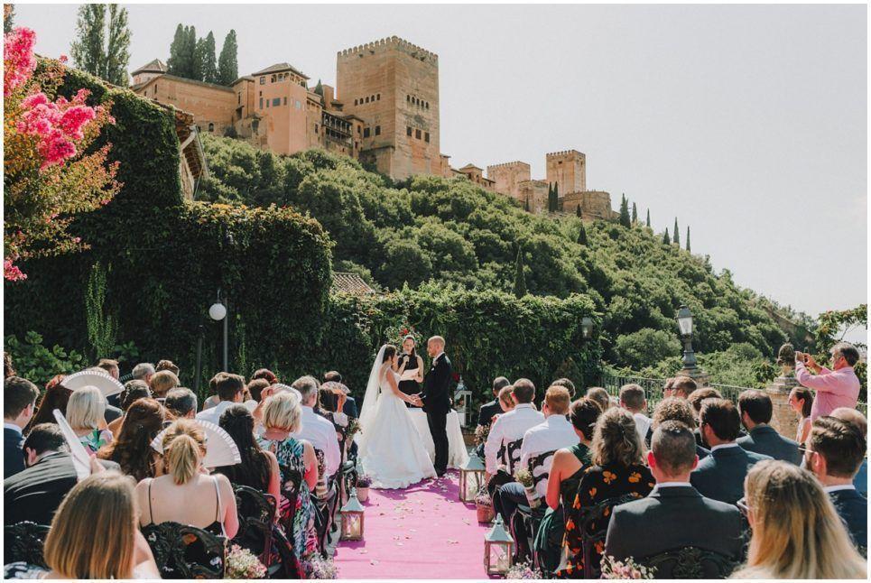 Boda en Carmen de los Chapiteles Alhambra wedding